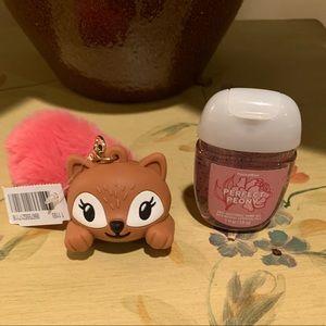Bath & Body Works AntiBac Squirrel Holder/AntiBac